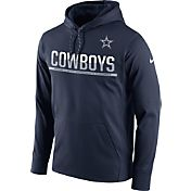 Nike Men's Dallas Cowboys Sideline 2016 Circuit Navy Pullover Hoodie