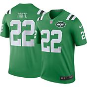 Nike Men's Color Rush 2016 New York Jets Matt Forte #22 Legend Game Jersey
