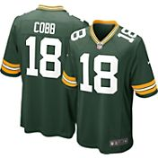 Nike Men's Home Game Jersey Green Bay Packers Randall Cobb #18