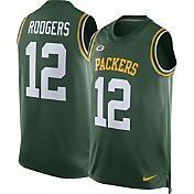 Nike Men's Green Bay Packers Aaron Rodgers #12 Green Jersey Tank Top