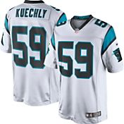Nike Men's Away Limited Jersey Carolina Panthers Luke Kuechly #59