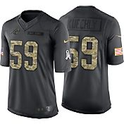 Nike Men's Home Limited Jersey Carolina Panthers Luke Kuechly #59 Salute to Service 2016
