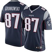 Nike Men's Home Limited Jersey New England Patriots Rob Gronkowski #87