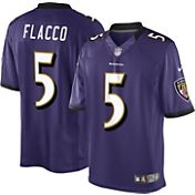 Nike Men's Home Limited Jersey Baltimore Ravens Joe Flacco #5