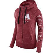 Nike Women's Arizona Diamondbacks Vintage Red Full-Zip Hoodie
