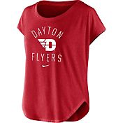 Nike Women's Dayton Flyers Red Gameday Signal Tri-Blend T-Shirt