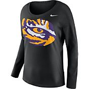 Nike Women's LSU Tigers Tailgate Black Long Sleeve Shirt