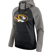 Nike Women's Missouri Tigers Grey/Black Tailgate All Time Performance Hoodie