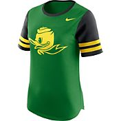 Nike Women's Oregon Ducks Apple Green Gear Up Modern Fan T-Shirt