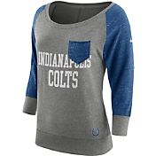 Nike Women's Indianapolis Colts Tailgate Vintage Crew Grey Long Sleeve Shirt