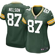 Nike Women's Home Game Jersey Green Bay Packers Jordy Nelson #87
