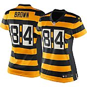 Nike Women's Alternate Game Jersey Pittsburgh Steelers Antonio Brown #84