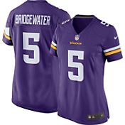 Nike Women's Home Game Jersey Minnesota Vikings Teddy Bridgewater #5