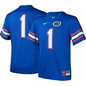 Nike Youth Florida Gators #1 Blue Game Football Jersey