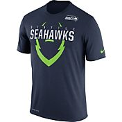 Nike Youth Seattle Seahawks Legend Icon Navy Performance T-Shirt