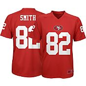 NFL Team Apparel Youth San Francisco 49ers Torrey Smith #82 Performance Red T-Shirt