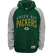 NFL Team Apparel Youth Green Bay Packers Foundation Green Hoodie
