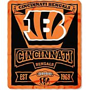 Northwest Cincinnati Bengals Marquee Fleece Throw