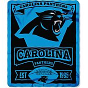 Northwest Carolina Panthers Marquee Fleece Throw