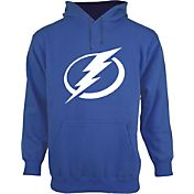 Old Time Hockey Men's Tampa Bay Lightning Big Logo Royal Hoodie
