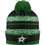 Old Time Hockey Men's Dallas Stars Clay Green Cuffed Knit Hat