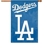 Party Animal Los Angeles Dodgers Applique Banner Flag