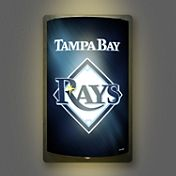 Party Animal Tampa Bay Rays MotiGlow Light Up Sign