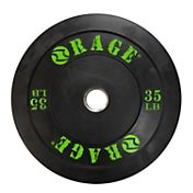 Rage 35 lb Olympic Pro Bumper Plate