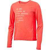 Reebok Girls' To Do List Graphic Long Sleeve Shirt