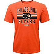 CCM Youth Philadelphia Flyers Classic Stripe Orange T-Shirt
