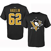 Reebok Youth Pittsburgh Penguins Carl Hagelin #62 Replica Home Player T-Shirt