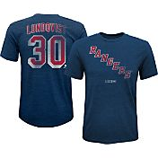 CCM Youth New York Rangers Henrik Lundqvist #30 Vintage Replica Home Player T-Shirt
