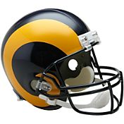 Riddell Los Angeles Rams VSR4 Deluxe Throwback '81 – '99 Full-Size Football Helmet