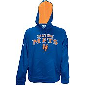 Stitches Men's New York Mets Pullover Royal Hoodie