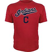 Stitches Youth Cleveland Indians Red T-Shirt