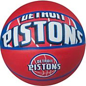 Spalding Detroit Pistons Full-Sized Court Side Basketball