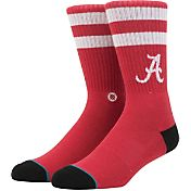 Stance Alabama Crimson Tide Striped Socks