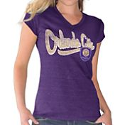 Touch by Alyssa Milano Women's Orlando City Purple Alumni V-Neck T-Shirt