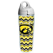 Tervis Iowa Hawkeyes Clear Chevron 24oz Water Bottle