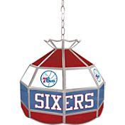 Trademark Games Philadelphia 76ers 16'' Tiffany Lamp