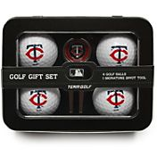 Team Golf Minnesota Twins 4-Ball Tin Set
