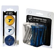 Team Golf St. Louis Blues 3 Ball/50 Tee Combo Gift Pack