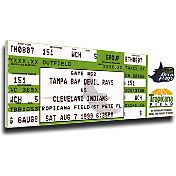 That's My Ticket Tampa Bay Devil Rays Wade Boggs 3000 Hits Mega Ticket