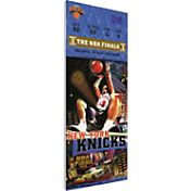 That's My Ticket New York Knicks 1999 NBA Finals Game 5 Canvas Ticket