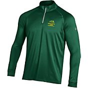 Under Armour Men's North Dakota State Bison Green UA Tech Quarter-Zip Shirt