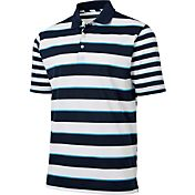 Walter Hagen Men's Topsail Mixed Stripe Golf Polo