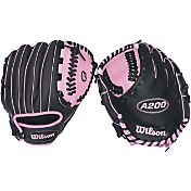 Wilson 10' Girls' T-Ball A200 Series Glove