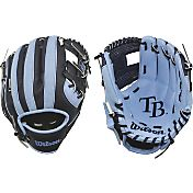 "Wilson 10"" A200 Tampa Bay Rays T-Ball Glove"