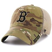 '47 Men's Boston Red Sox Jericho Camo Clean Up Adjustable Hat