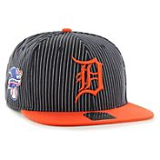 '47 Men's Detroit Tigers Woodside Captain Navy Adjustable Snapback Hat